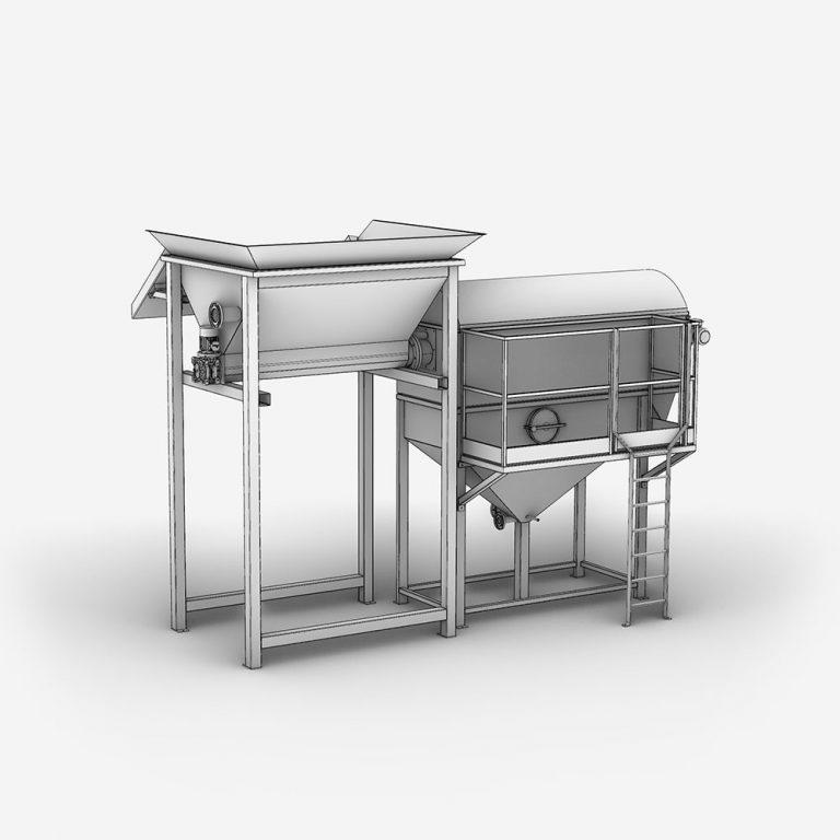 Serinol Solutions et équipement de traitement des eaux Produit Unite de depotage Pack curage