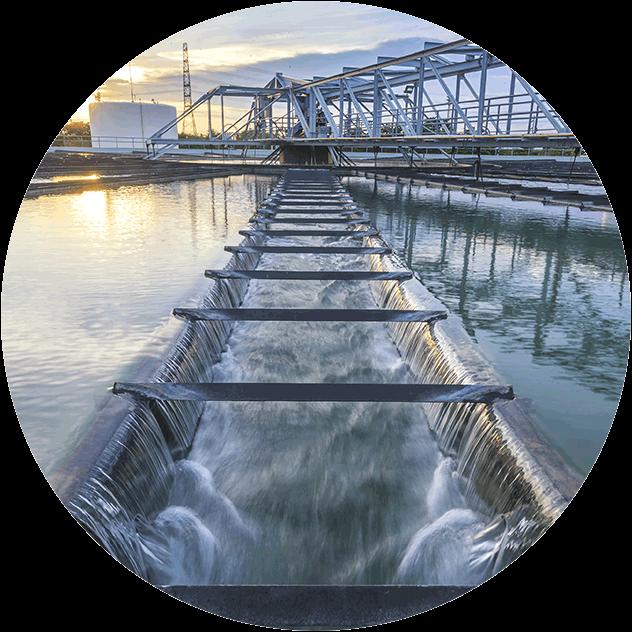 Serinol Solutions et équipement de traitement des eaux Produit application effluents industrie