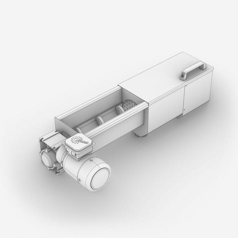 Serinol Solutions et équipement de traitement des eaux Produit compacteur a vis et convoyeur a vis Ecocomp