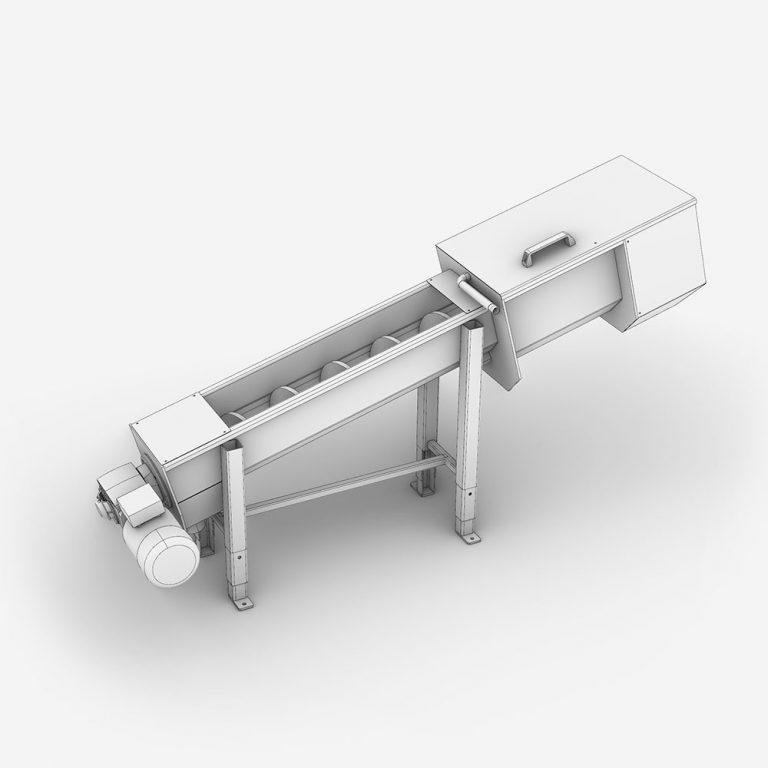 Serinol Solutions et équipement de traitement des eaux Produit compacteur a vis et convoyeur a vis SERCOMP+