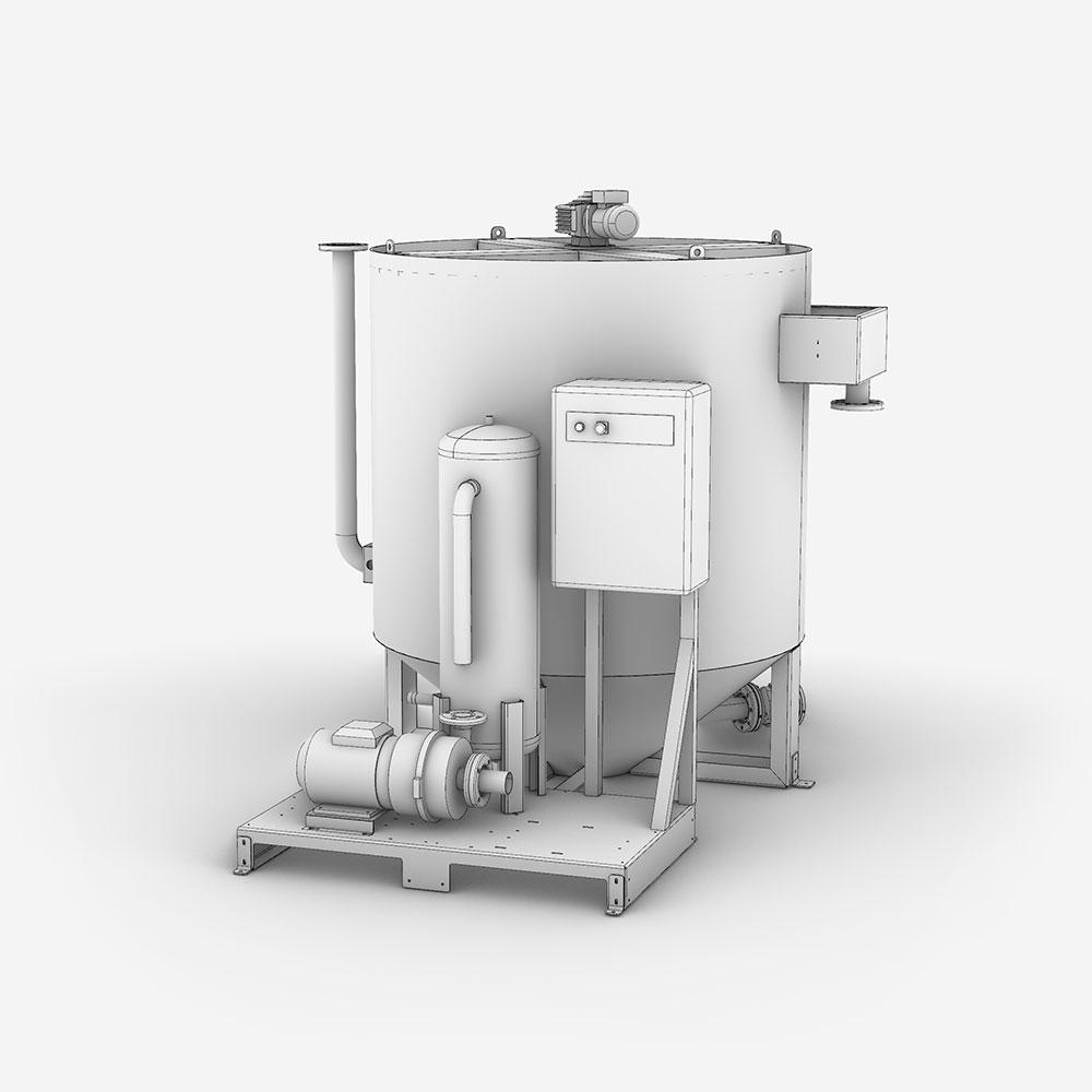 Serinol Solutions et équipement de traitement des eaux Produit flottateurt DAF flottateur CY