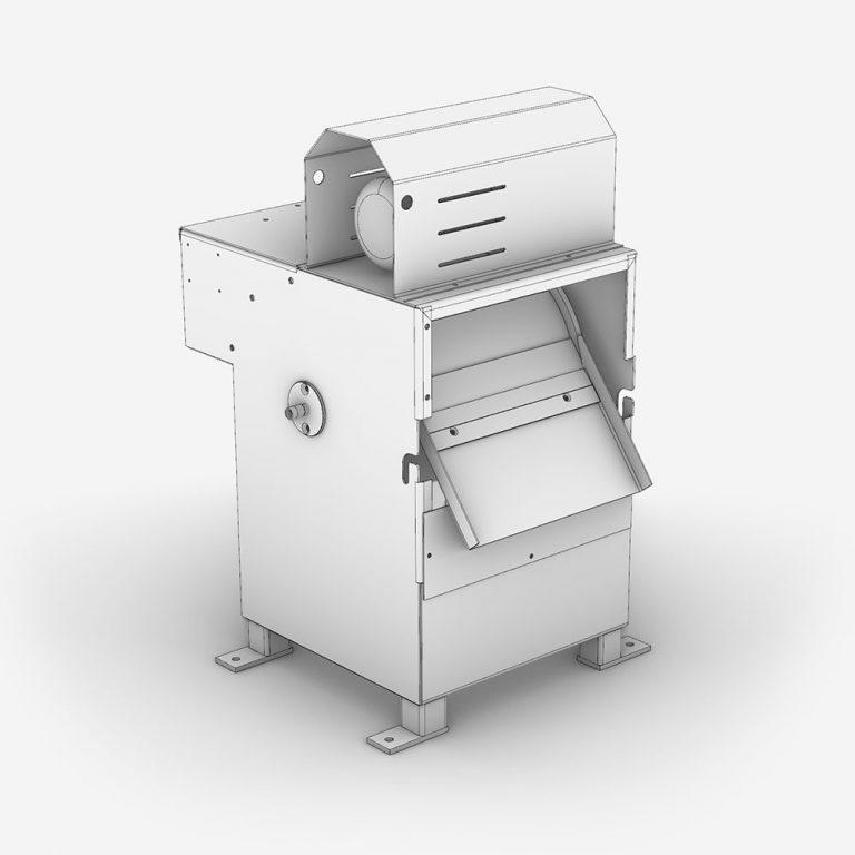 Serinol Solutions et équipement de traitement des eaux Produit tamis rotatif tambour a alimentation externe Ecotam