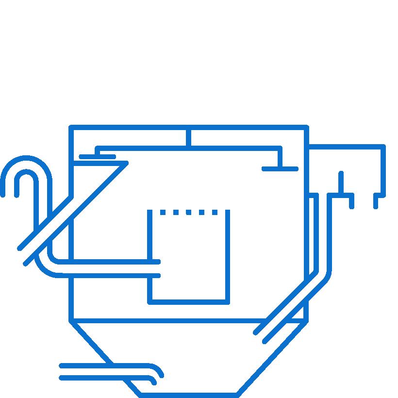 serinol solutions et equipement de traitement des eaux picto produit-dégraisseur aéré raclé