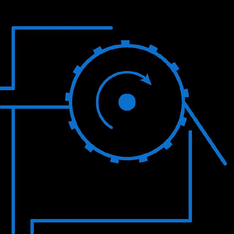 serinol solutions et equipement de traitement des eaux picto produit-tamis rotatif alimentation externe sertam